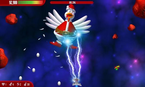 Chicken Invaders 3 Xmas HD Affiche