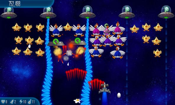 Chicken Invaders 5 screenshot 2
