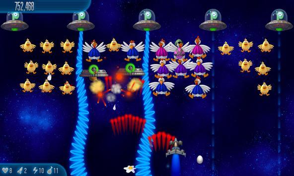 Chicken Invaders 5 HD (Tablet) Screenshot 2