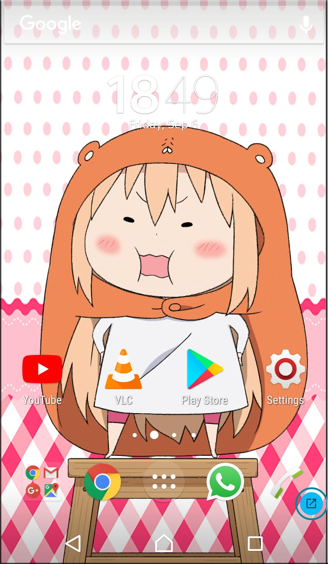 UmaruChan Interactive Live Wallpaper ...