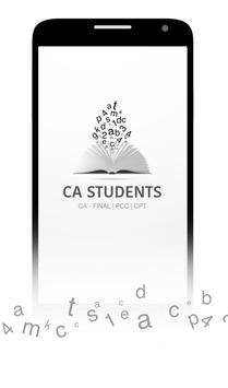 CCI Student - CA Student app for CA Final IPC CPT poster