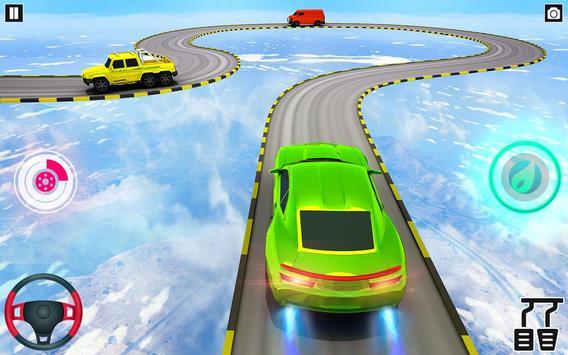 Mega Ramp Car Stunt Games : Free Car Driving Games screenshot 3