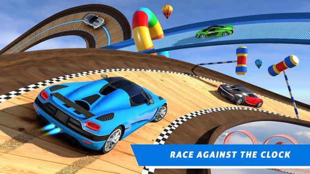 Mega Ramp Car Stunt Games : Free Car Driving Games screenshot 5