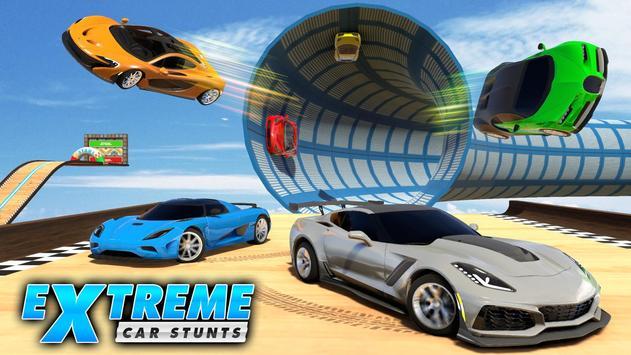 Mega Ramp Car Stunt Games : Free Car Driving Games screenshot 6