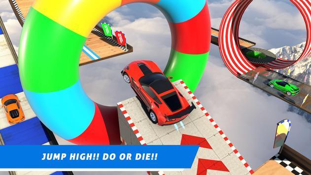 Mega Ramp Car Stunt Games : Free Car Driving Games screenshot 7
