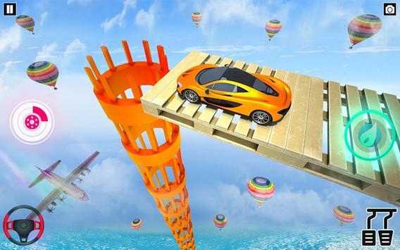 Mega Ramp Car Stunt Games : Free Car Driving Games screenshot 9