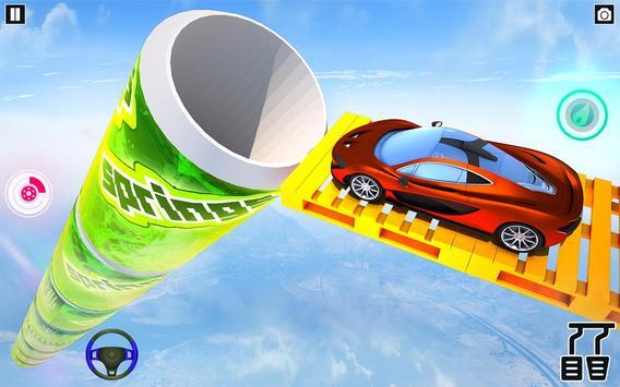 Mega Ramp Car Stunt Games : Free Car Driving Games screenshot 8