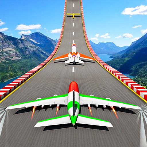 Plane Stunt Races - Mega Ramps