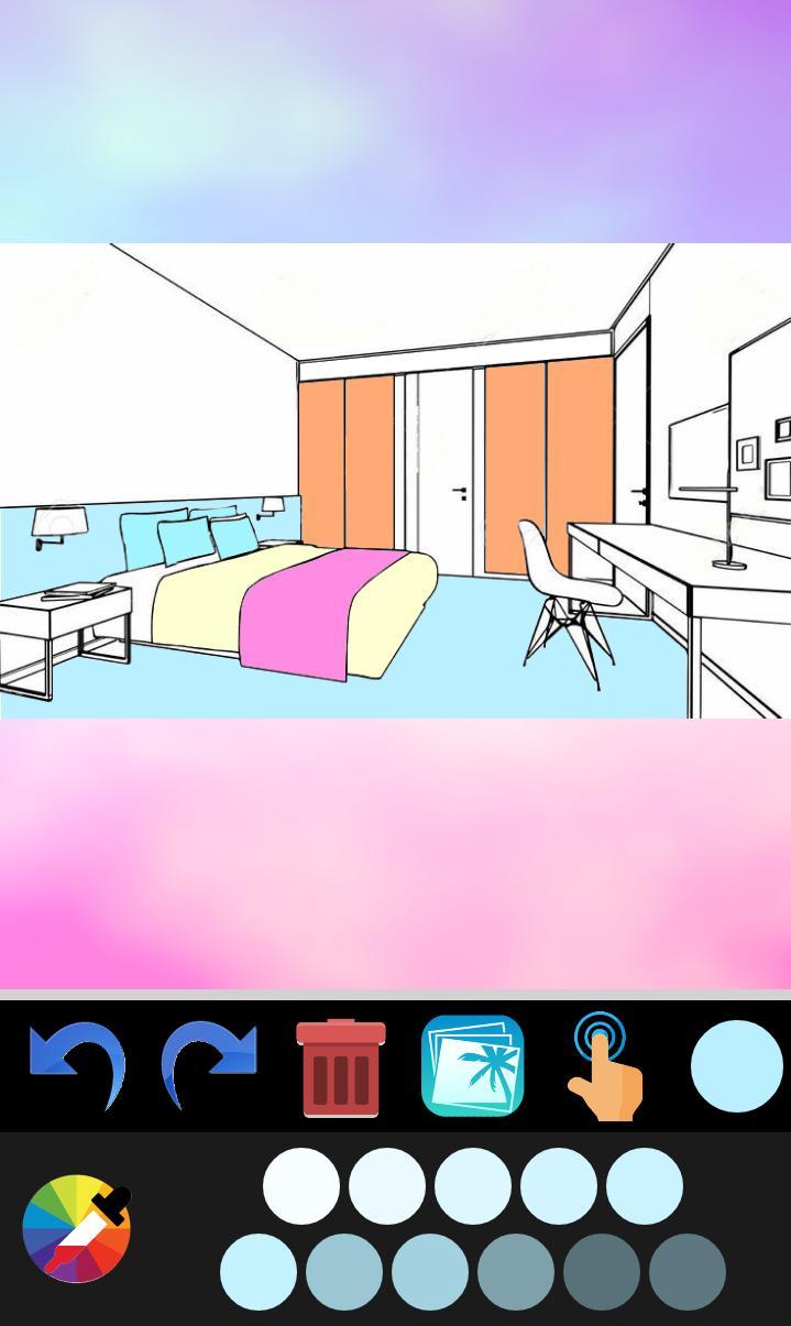 Buku Mewarnai Interior Rumah For Android APK Download