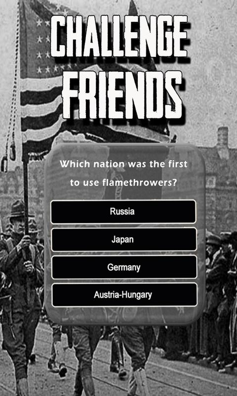 Ww1 Quiz Test Your World War 1 History Knowledge For Android