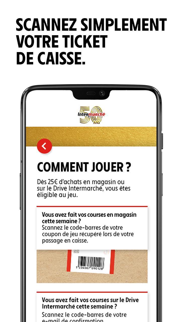 Grand Jeu Anniversaire 25 Ans.Grand Jeu Anniversaire 50 Ans Intermarche For Android