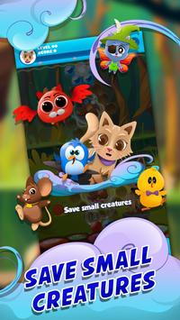 Witch Bubble Shooter Catly: Free Pop Offline Game poster