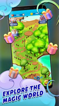 Witch Bubble Shooter Catly: Free Pop Offline Game screenshot 13