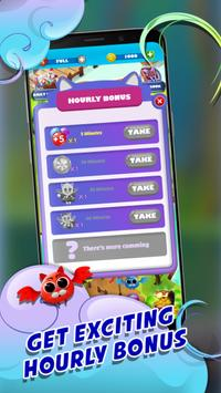 Witch Bubble Shooter Catly: Free Pop Offline Game screenshot 22