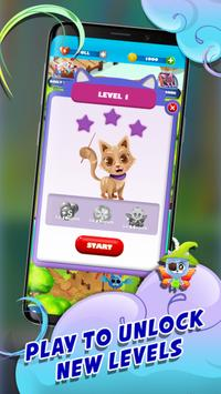 Witch Bubble Shooter Catly: Free Pop Offline Game screenshot 23