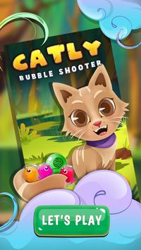 Witch Bubble Shooter Catly: Free Pop Offline Game screenshot 2