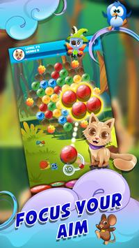Witch Bubble Shooter Catly: Free Pop Offline Game screenshot 12