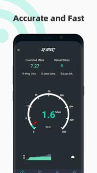 Internet speed test Meter- SpeedTest Master plakat