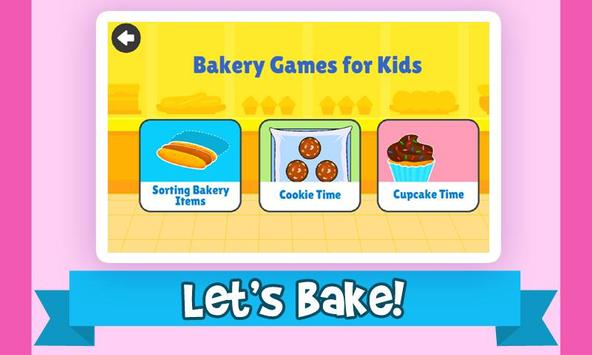 Cooking & Kitchen Games For Kids - Free & Offline poster