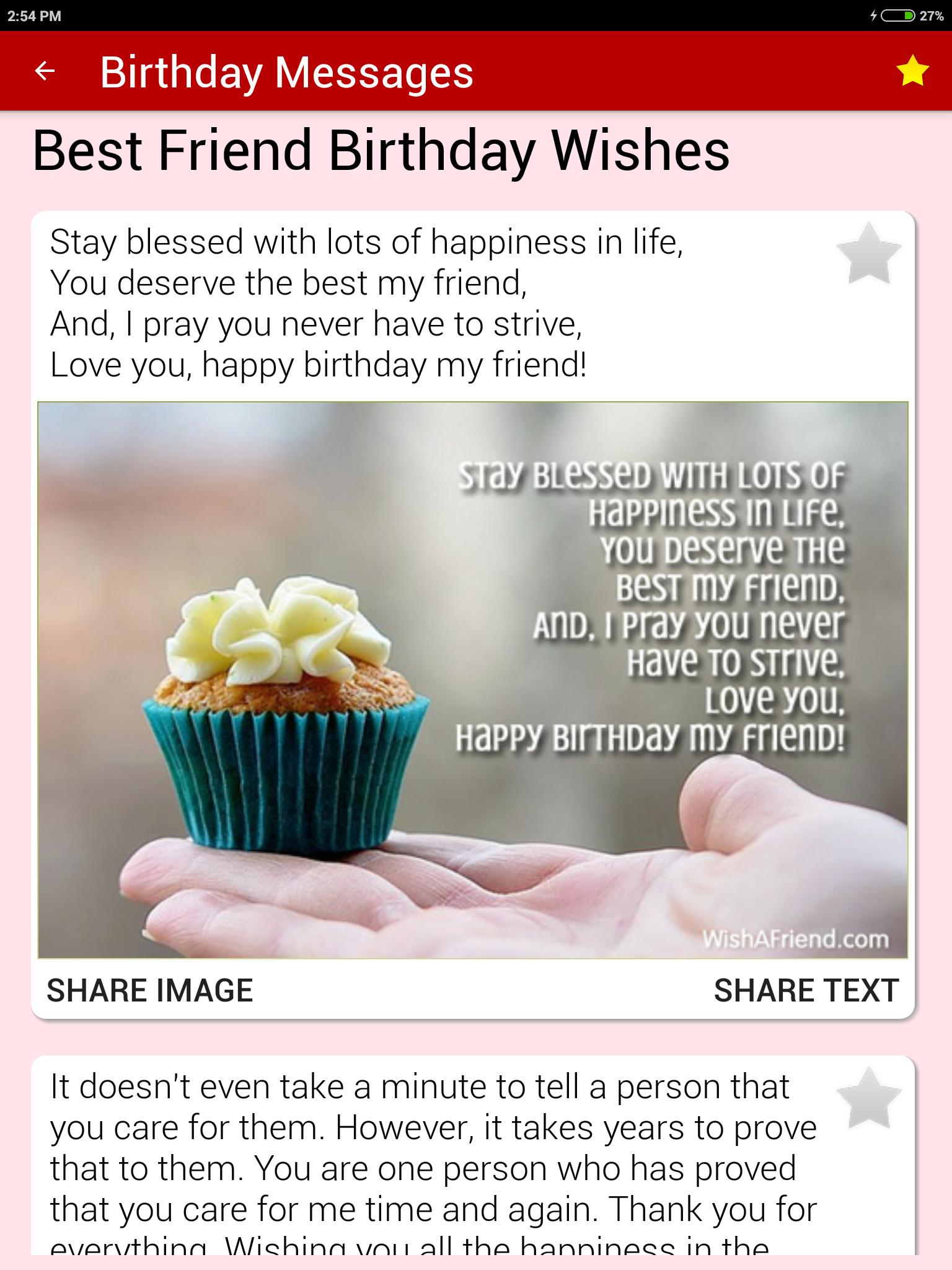Birthday Cards & Messages - Wish Friends & Family for