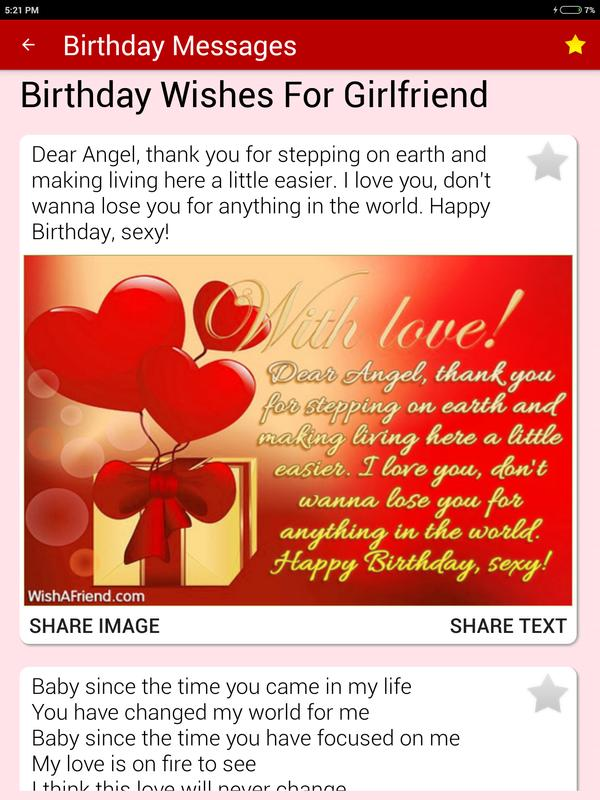 Birthday Cards Messages
