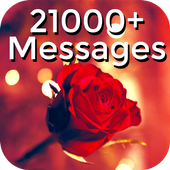 Messages Wishes SMS Collection - Images & Statuses 图标