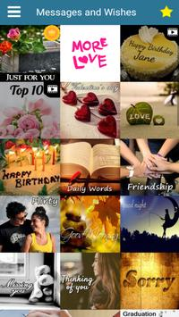 Messages Wishes SMS Collection - Images & Statuses 截图 5