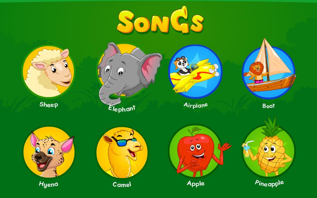 Nursery Rhymes, Kids Games & Songs Free for Android - APK