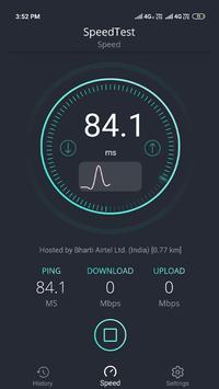 SpeedTest -Internet Speed Meter poster