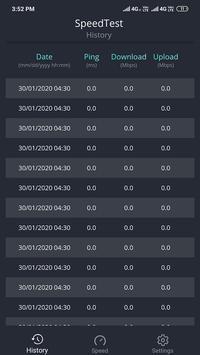 SpeedTest -Internet Speed Meter screenshot 1