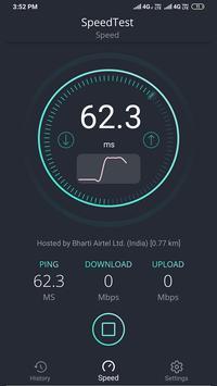 SpeedTest -Internet Speed Meter screenshot 2