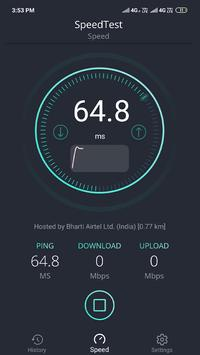 SpeedTest -Internet Speed Meter screenshot 4