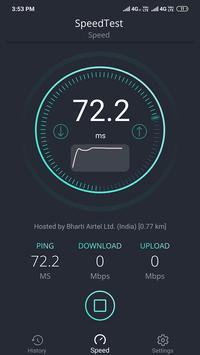SpeedTest -Internet Speed Meter screenshot 6