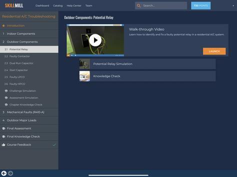 SkillMill captura de pantalla 5