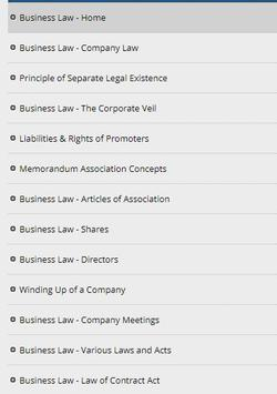 Learn Business Law (Ebook) poster