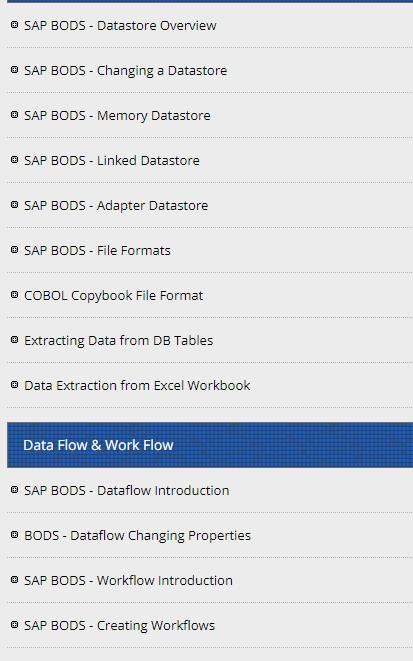 Learn SAP BO Data Services for Android - APK Download