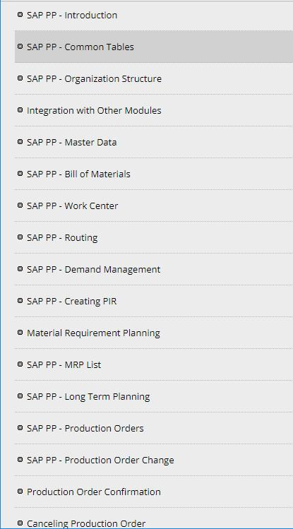Learn SAP Production Planning (PP) for Android - APK Download