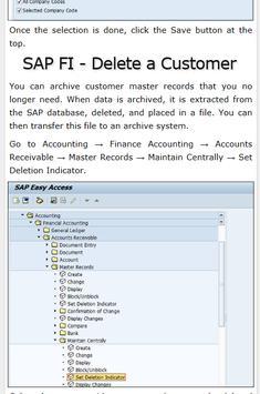 Learn SAP FICO Tutorials screenshot 3