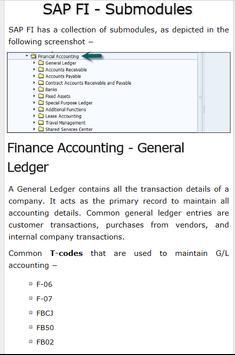 Learn SAP FICO Tutorials screenshot 2