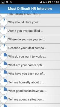 Job HR Interview Questions screenshot 1