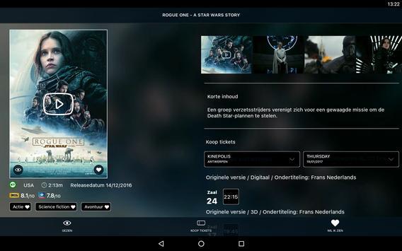 Kinepolis screenshot 4