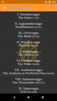 Dhammapada (English) Cartaz