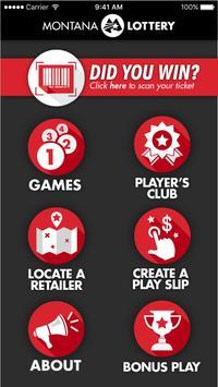 Montana Lottery poster