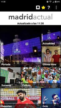 Madrid Actual poster