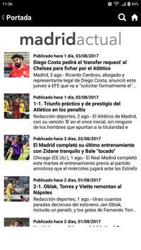 Madrid Actual screenshot 4