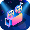 Intro Maker With Music, Video Maker & Video Editor أيقونة