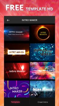 Intro Maker With Music, Video Maker & Video Editor poster