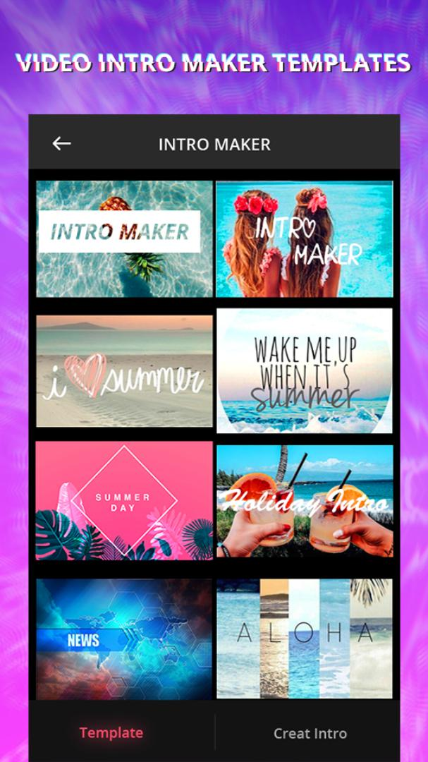 Intro Maker With Music, Video Maker & Video Editor for Android - APK