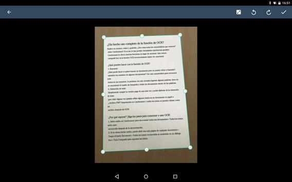 CamScanner captura de pantalla 17