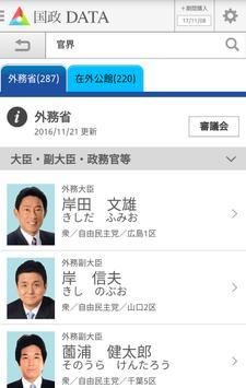 国政DATA screenshot 1